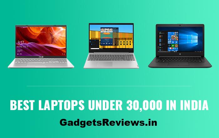 Best laptop under 30000 in india 2020
