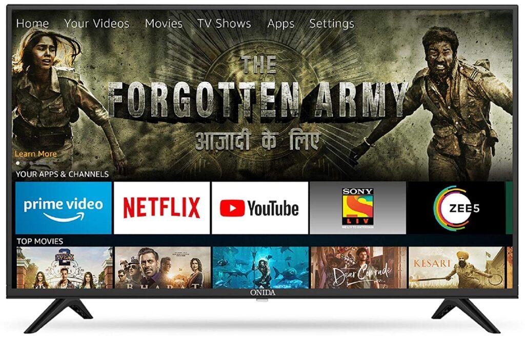 Onida fire tv; Smart LED TV