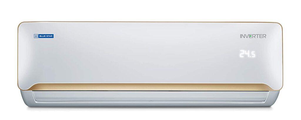 blue star 1.5 ton inverter split air conditioner, air conditioner, ac under 40000, air conditioners, 1 ton