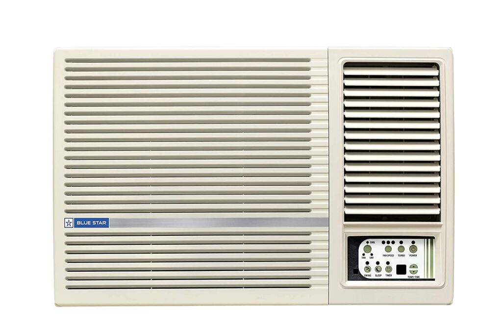 blue star 1.5 ton, window ac, ac under 30000, ac, air conditioner, 1.5 ton