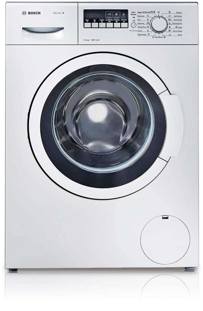 bosch 7 kg, washing machine price, fully-automatic, washing machine, front load, washing machine price under 30000