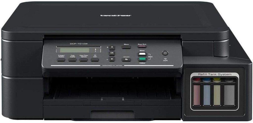brother dcp-t510w, printers, hp printer, laser, laserjet, ink tank