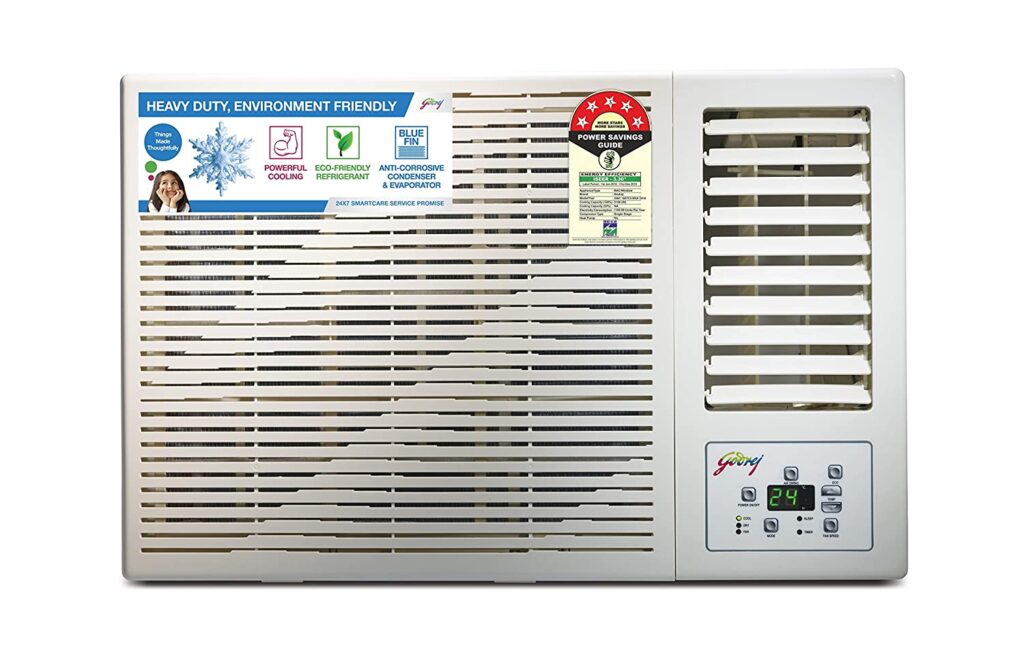 godrej 1.5 ton, window ac, ac under 30000, ac, air conditioner, 1.5 ton