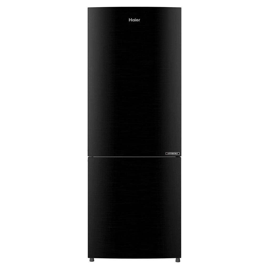 haier 256 L double door fridge, fridge, refrigerator, fridge under 25000