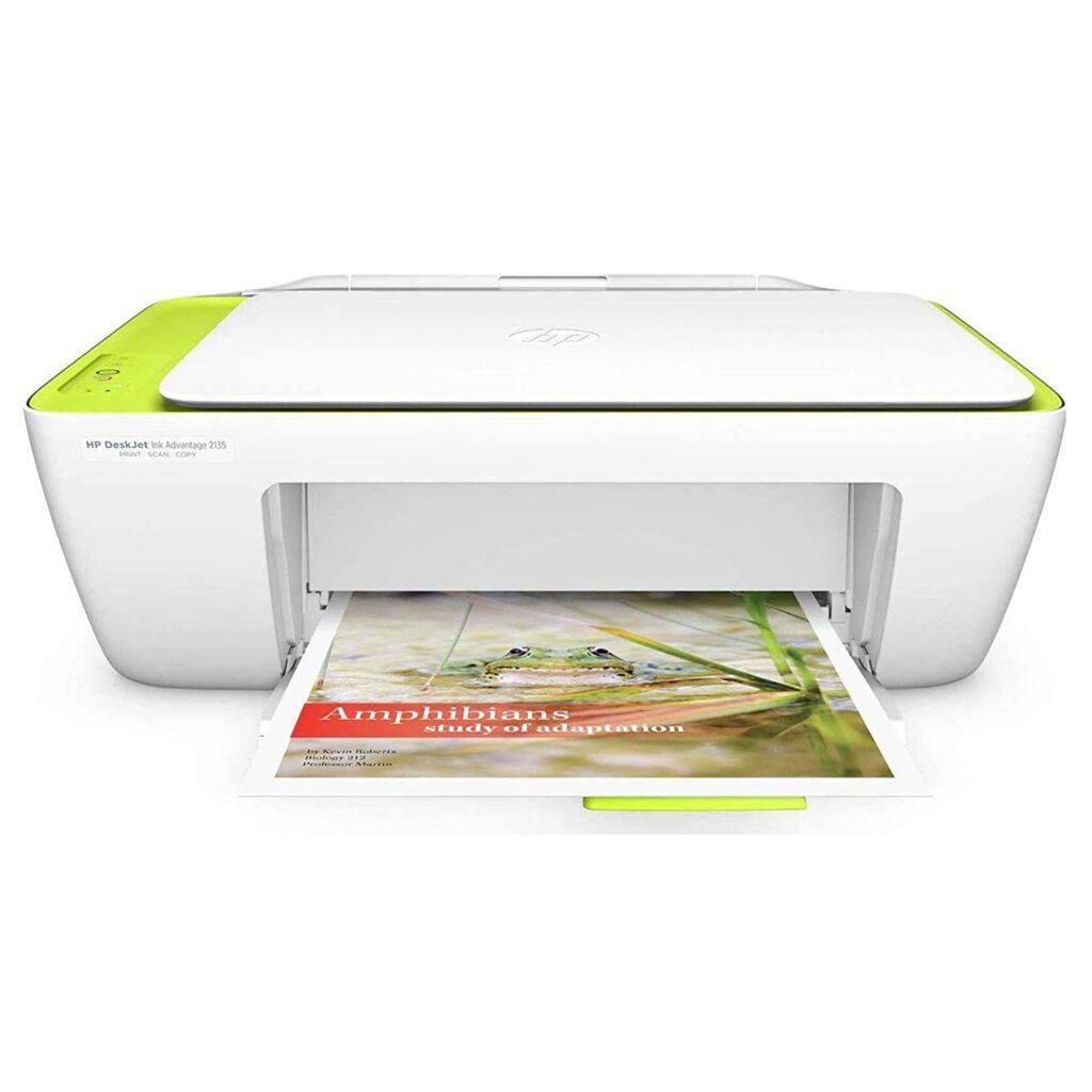 Hp Deskjet 2135, printer, color printer, wireless color printer, hp printer