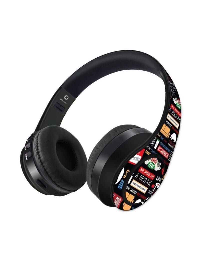macmerise friends, headphone, headphones