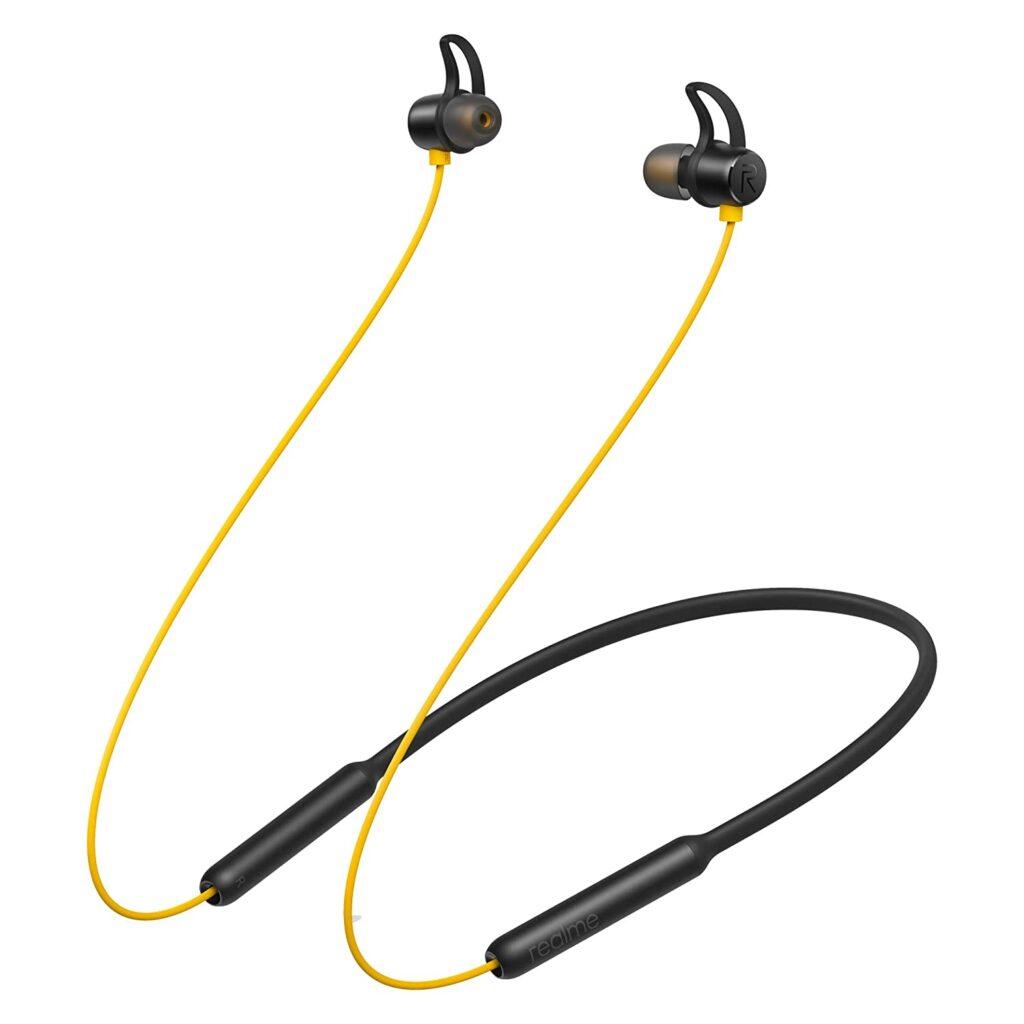 Realme buds wireless, Neckband, Wireless earphone, earphones, Bluetooth earphone