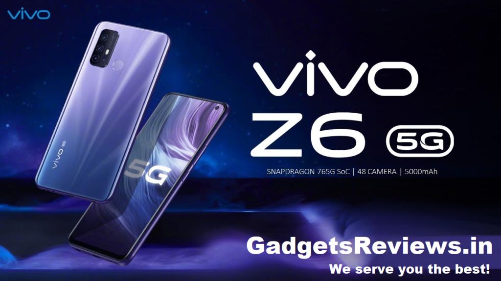 Vivo z6 5g price in india