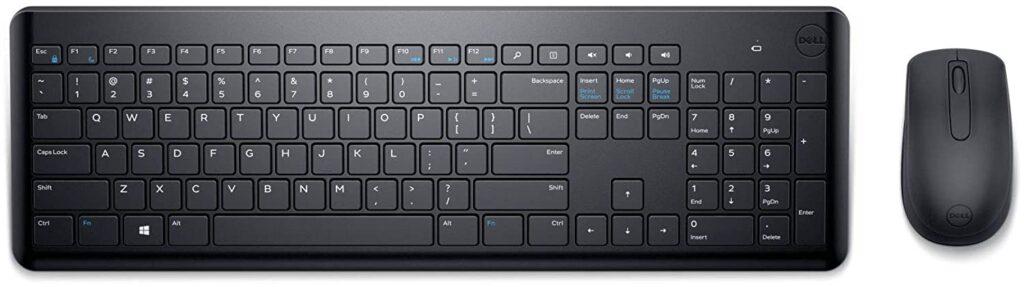 dell km117 wireless keyboard mouse combo
