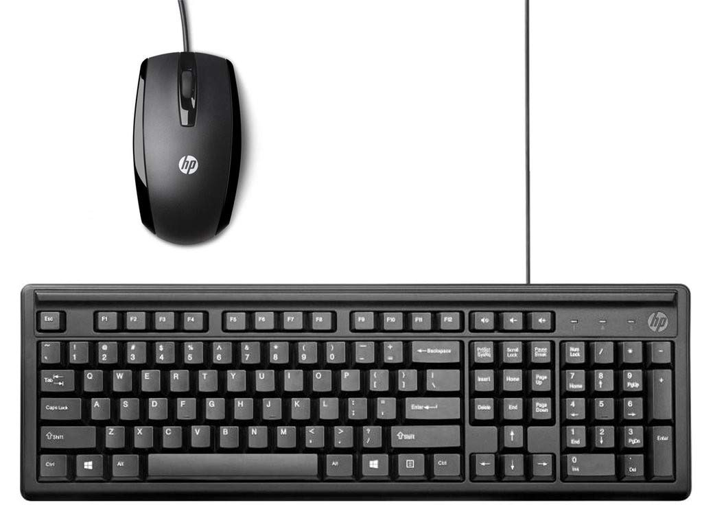 hp wired keyboard and mouse combo