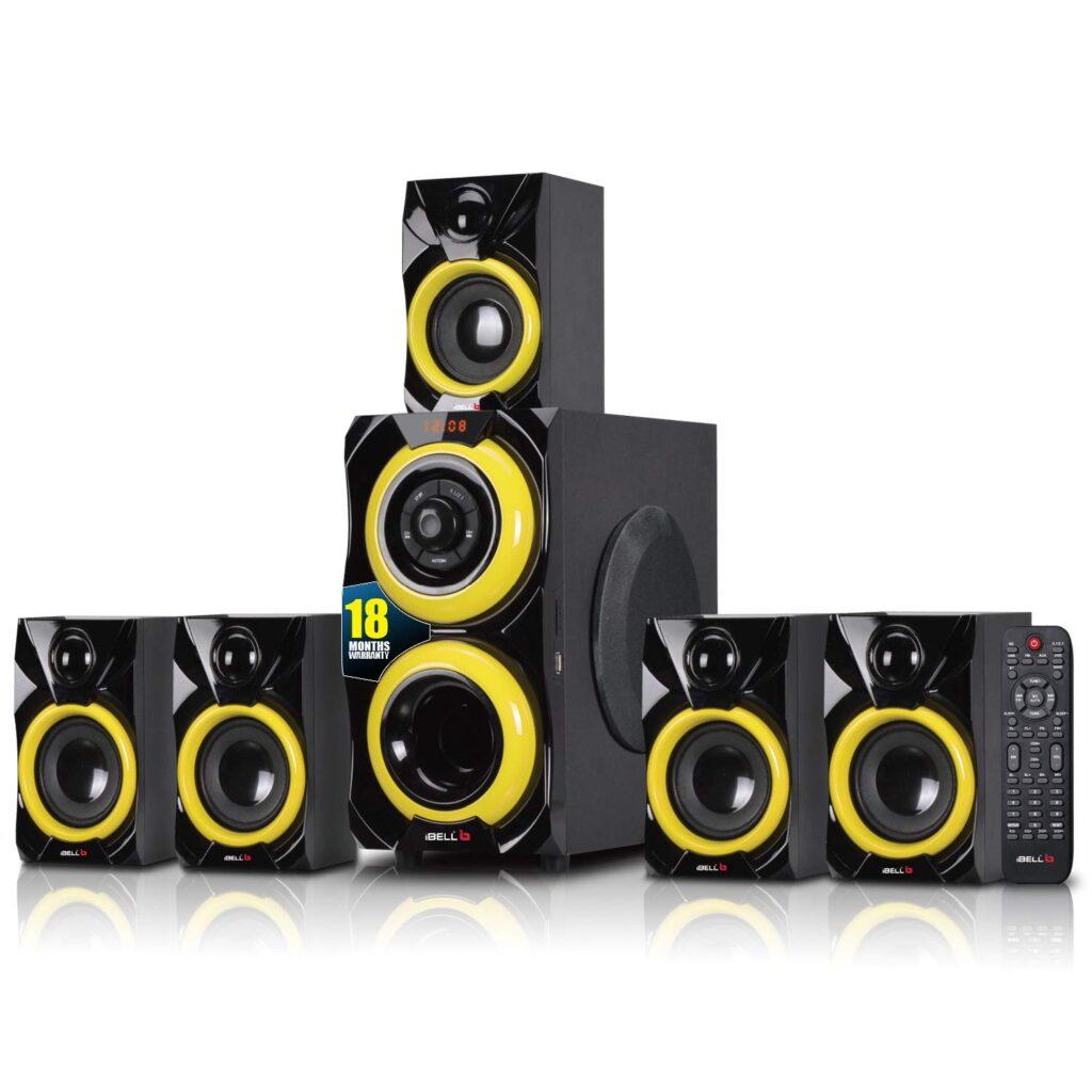 ibell 2077dlx home theatre speaker