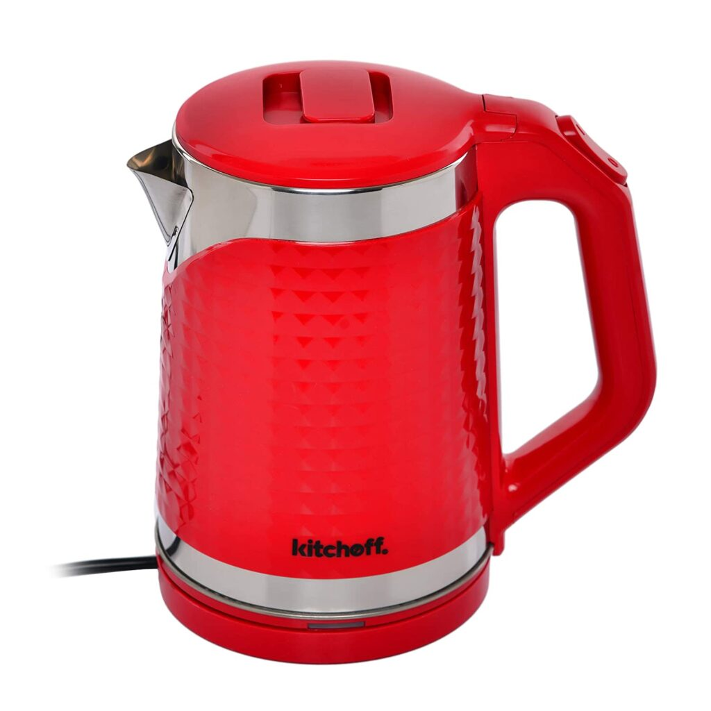 kitchoff double body electric kettle