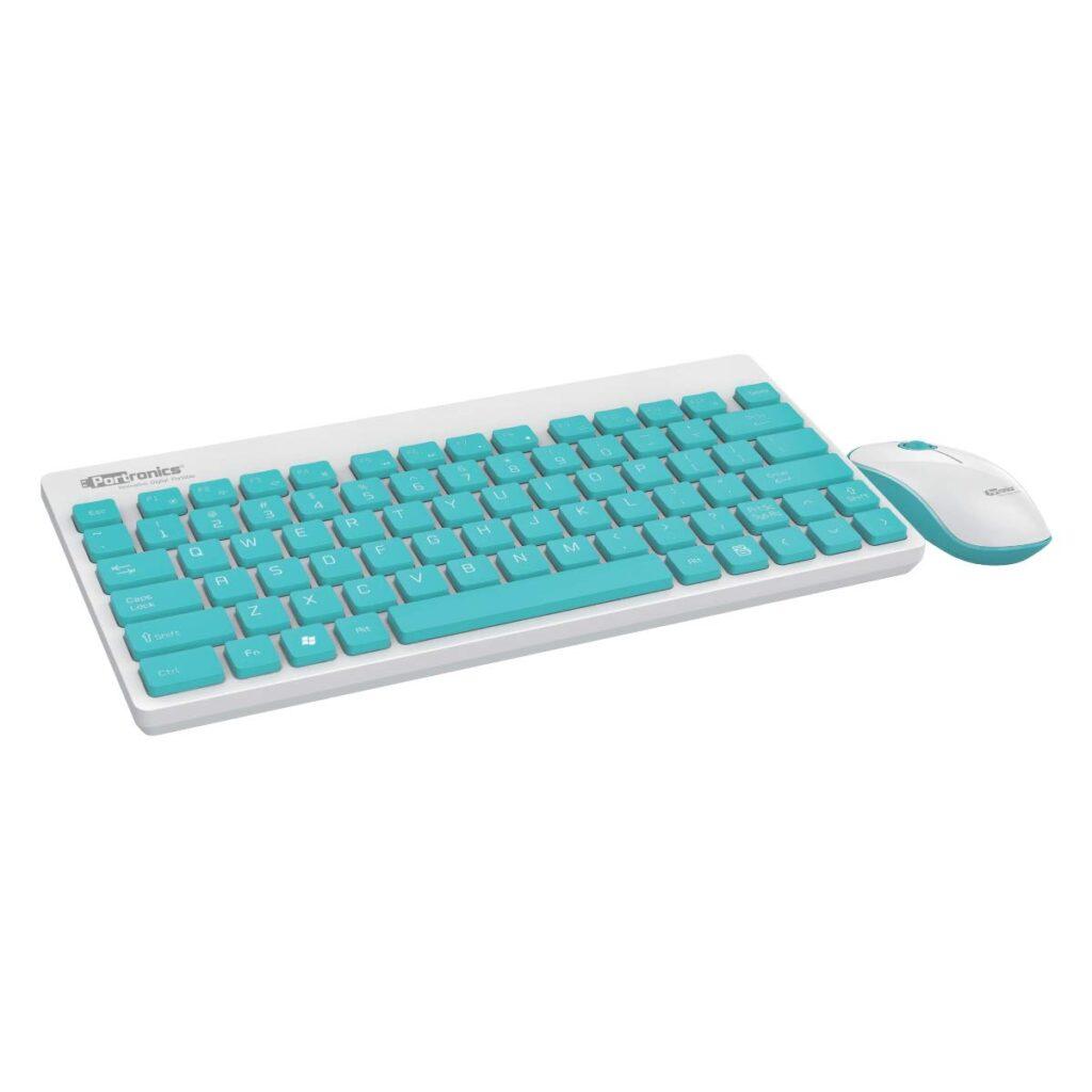 portronics wireless keyboard mouse combo
