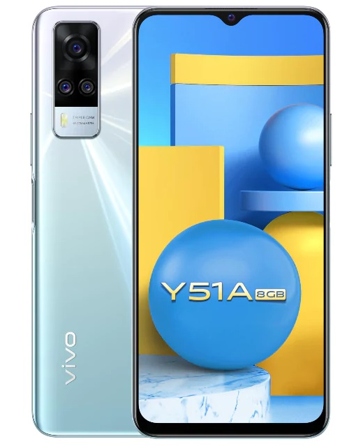 Vivo Y51A mobile phone