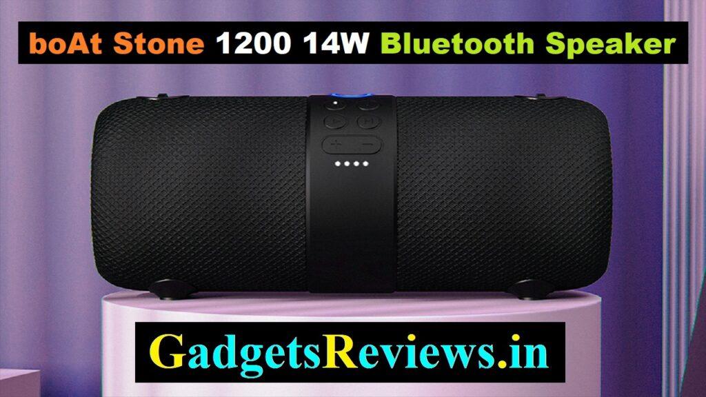 boat stone, boat stone 1200, bluetooth speaker, buy boat speakers, boat 1200 speaker in India, boAt Stone 1200 14W Bluetooth Speaker