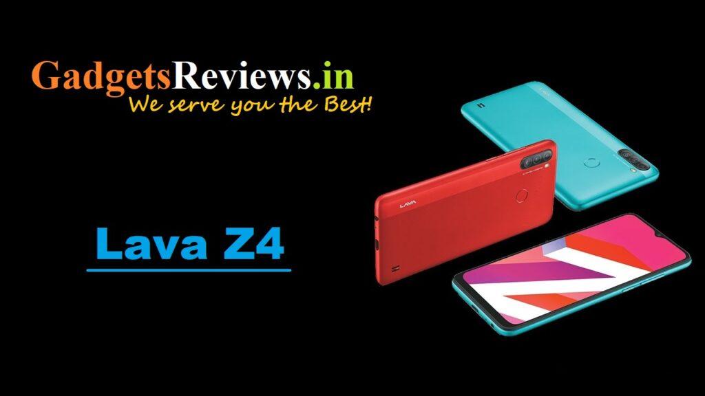 lava z4, lava z4 specifications, lava z4 mobile phone, lava z4 launching date in India, lava z4 phone price