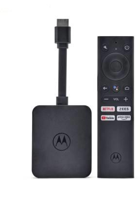 Motorola 4K Android TV Stick, Motorola TV Stick, Motorola Moto 4K Android TV Stick, Motorola Android TV Stick price, 4K Android TV Stick, tv stick, stream stick, flipkart, android tv stick
