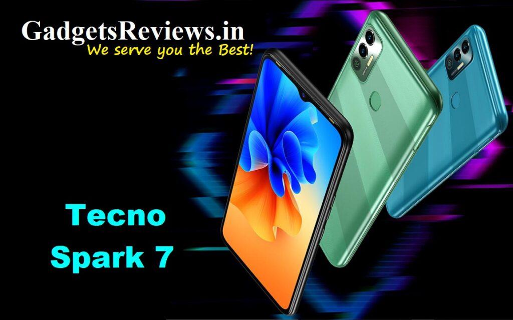 Tecno Spark 7, Tecno Spark 7 mobile phone, Tecno Spark 7 phone specifications, Tecno Spark 7 phone launching date in India, Tecno Spark 7 phone price, amazon