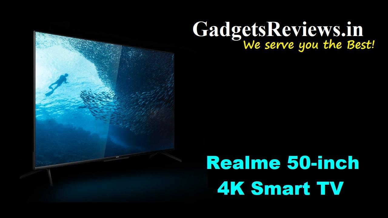 Realme 50-inch 4K Smart TV, 4k smart tv, smart tv realme, Realme 50-inch 4K Smart TV Ultra HD Android TV, Realme 50 inch UHD smart android tv