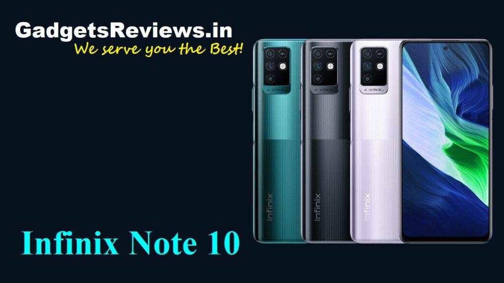 Infinix Note 10, Infinix Note 10 phone price, Infinix Note 10 phone specifications, Infinix Note 10 spects, Infinix Note 10 phone launching date in India, Infinix Note 10 mobile phone, Flipkart