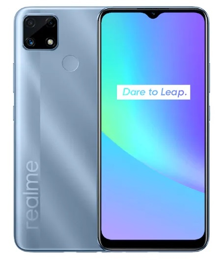 Realme C25s mobile phone