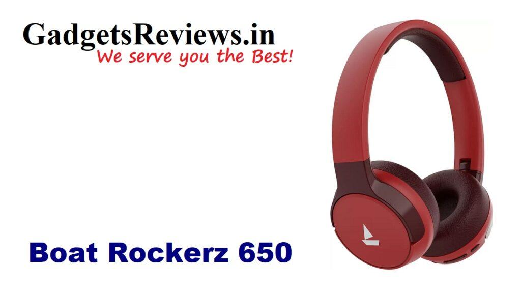 boAt Rockerz 650, boAt Rockerz 650 headphone, Rockerz 650 head phone, boAt Rockerz 650 head phone price, boAt Rockerz 650 head phone, boAt Rockerz 650 launching date in India, boAt Rockerz 650, bluetooth headphones, wireless headphone, flipkart, boat