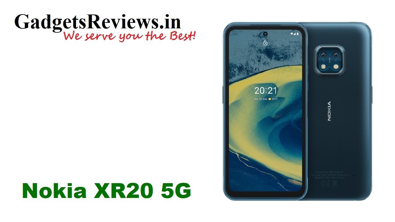 Nokia XR20 5G, Nokia XR20, Nokia XR20 5G mobile phone, Nokia XR20 phone price, Nokia XR20 5G phone launching date in India, Nokia XR20 launch date, Nokia XR20 5G phone specifications, Nokia XR20 phone spects, Nokia upcoming phones